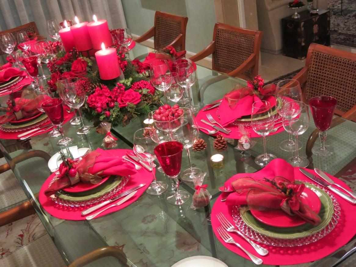 Decoração mesas de jantar Guia das Mulheres #BE0D40 1166x874